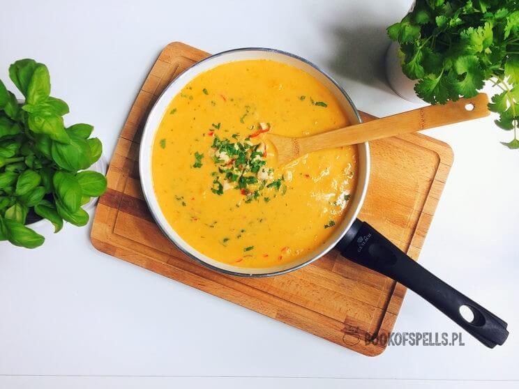 Nie chcesz spędzać całego popołudnia w kuchni? Kurczak w aksamitnym sosie z mango to przepis dla Ciebie! Jego przygotowanie zajmie Ci tylko 30 minut!